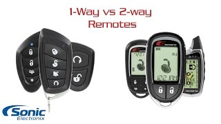 Aftermarket Remote Start and Car Alarms | Types of Remotes