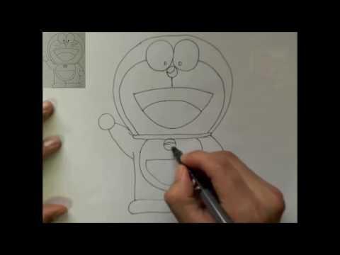 Cách vẽ Doraemon đơn giản - How to draw Doraemon - Anime+