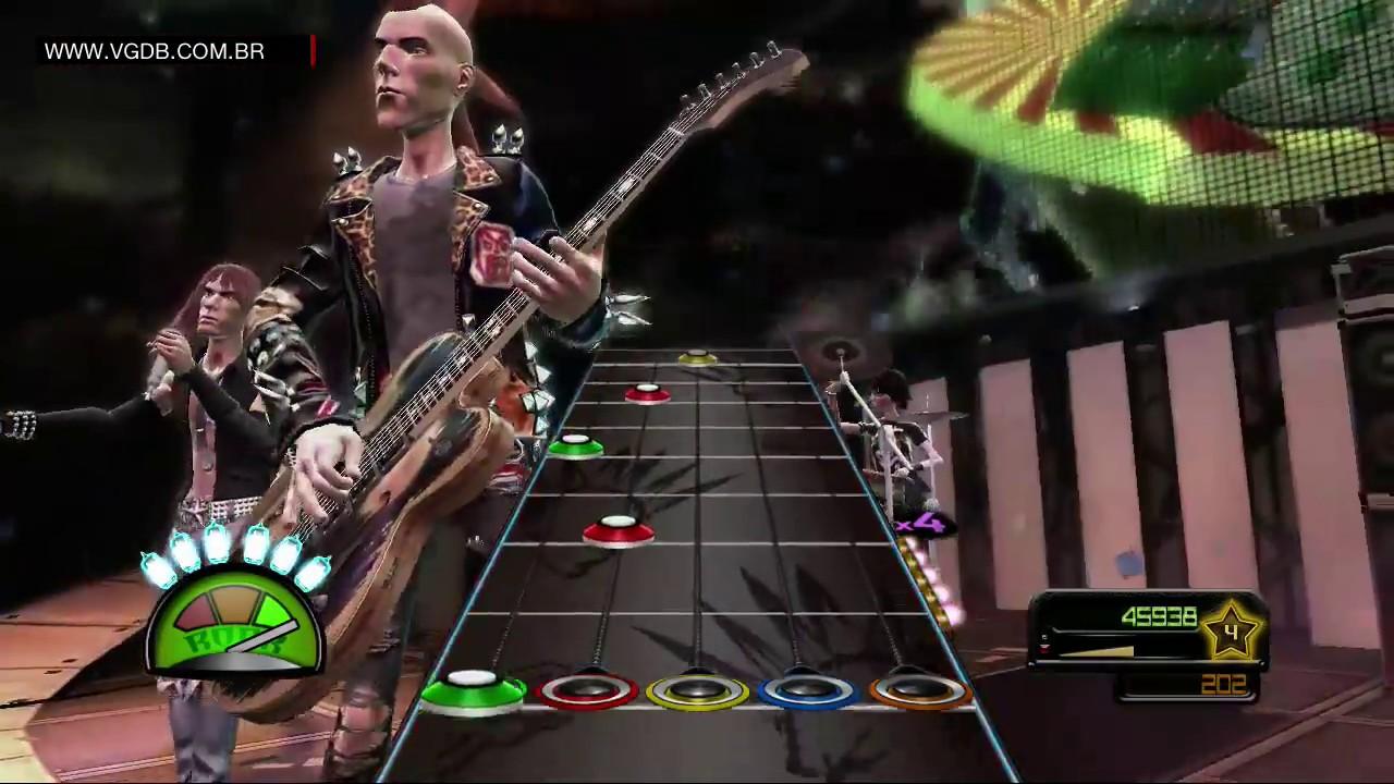 Guitar Hero Van Halen Gameplay Microsoft Xbox 360 Vgdb Youtube