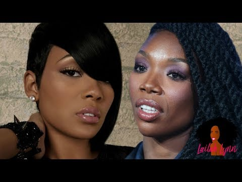 "The REAL Reason Brandy ""Shaded"" Monica! It's Not What People Think ..."