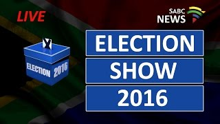 2016 Local Government Elections Show: 1 August 2016