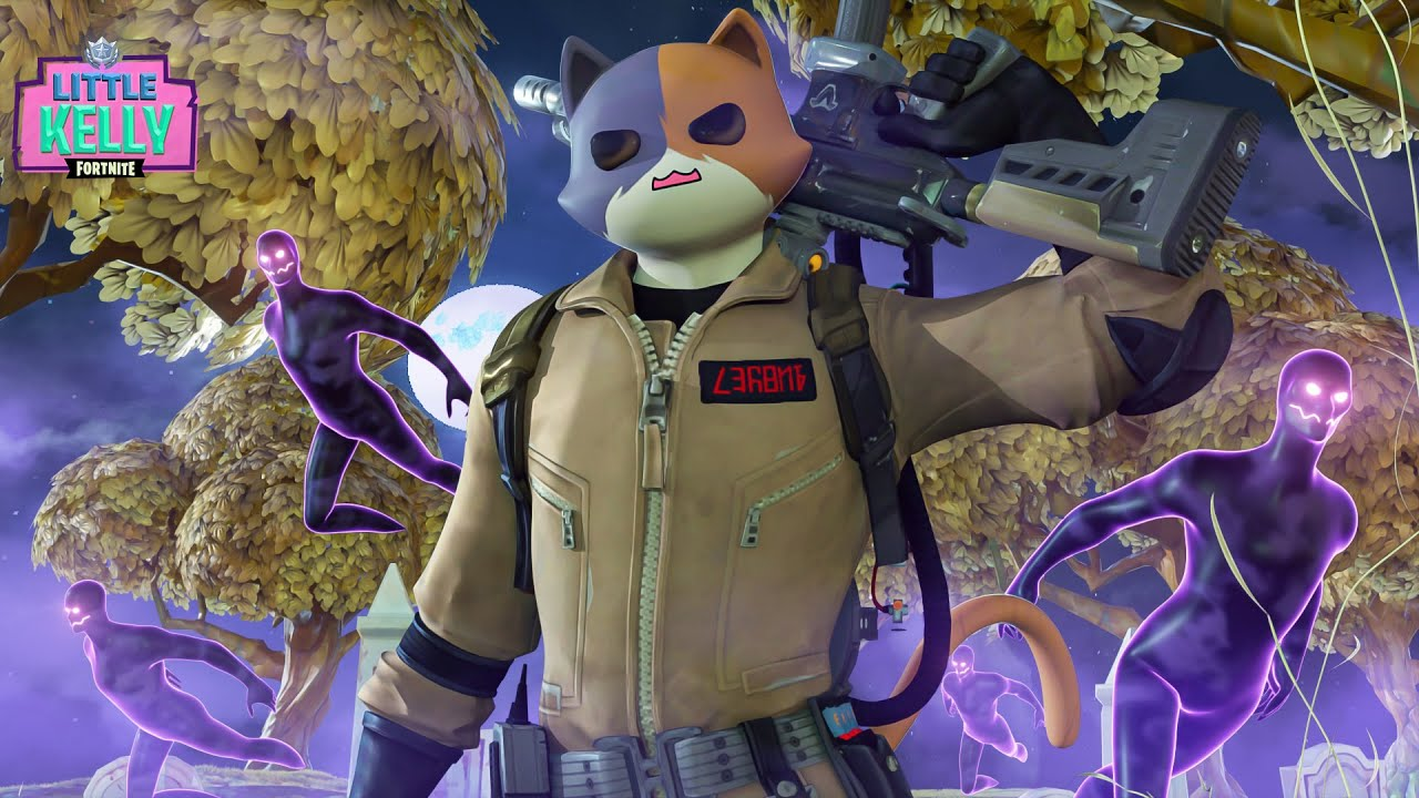 MEOWSCLES BECOMES A GHOSTBUSTER | Fortnite Short Film