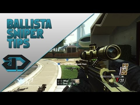 Ballista Sniper Tips - Black Ops 2 - How to Improve Your Sniper Aim