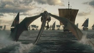 Daenerys Targaryen se dirige a Poniente   Juego de Tronos Español HD