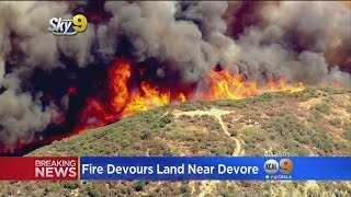 Blue Cut Fire Scorches 5,500 Acres Near Cajon Pass