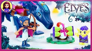 Lego Elves Rosalyn's Healing Hideout Build the Dragon Sapphire Kids Toys