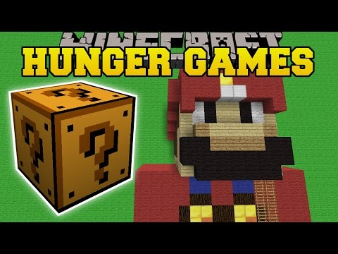 Minecraft: MINECRAFT YOUTUBERS ROOM HUNGER GAMES - Lucky Block Mod - Modded Mini-Game