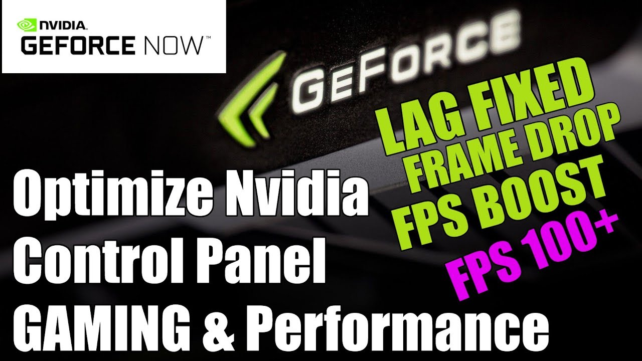 Optimize Your Nvidia Control Panel For GAMING PERFORMANCE