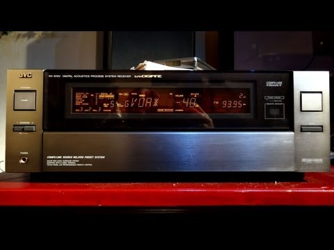JVC RX-1010v  / JVC RX-1010VTN - both top of the line - review and sound test