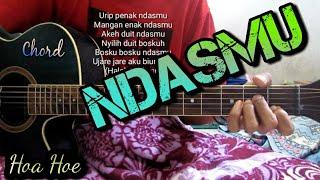 Download KULI HOA HOE - NDASMU(KUNCI GITAR)By Tokey tky