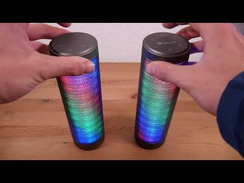 LED Lautsprecher für 50€ im Test