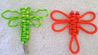 3 Minute Paracord Dragonfly