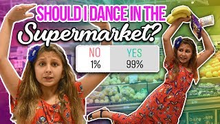 I said YES to EVERYTHING for 24 hours! Dancing in public and eating SPICY FOOD