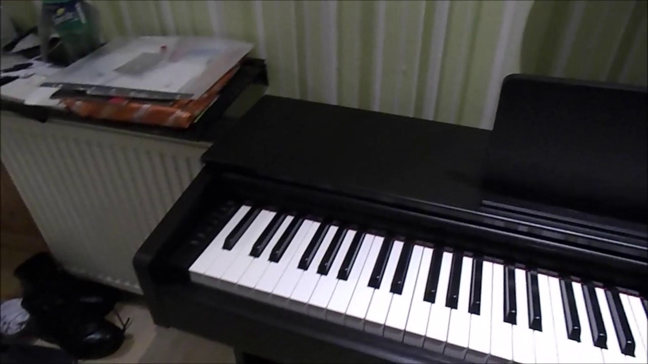 yamaha arius ydp 143 unboxing set up first play youtube. Black Bedroom Furniture Sets. Home Design Ideas