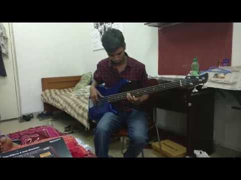 Malare Mounama Bass Cover(fretless Bass)