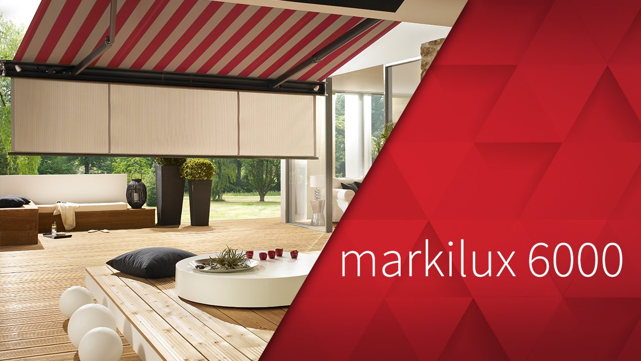 Markilux 6000 Kassetten Markise Youtube