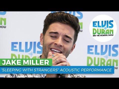 "Jake Miller - ""Sleeping With Strangers"" Acoustic | Elvis Duran Live"