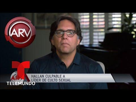 Hallan culpable a líder de culto sexual   Al Rojo Vivo   Telemundo