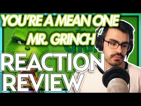 "Tyler The Creator - ""You're A Mean One, Mr Grinch"" The Grinch (2018) FIRST REACTION/REVIEW"