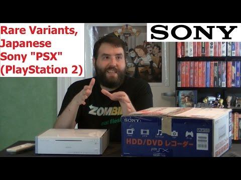 Japanese Sony PSX (PlayStation 2) - Rare Variants - Adam Koralik