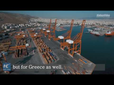 Largest ports of Greece and China sign MOU to boost cooperation within framework of Belt and Road