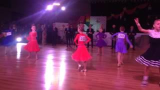 Спортивно-бальные танцы. Кривой Рог 2014.11.23
