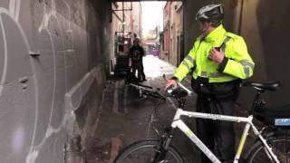 Garda Horse & Bike Chase - Dublin November 3rd 2010 HD