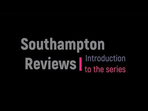 Southampton Reviews in Cardiothoracic Surgery: Introduction to the Series