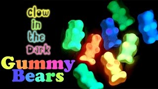 Kawaii Gummy Bears DIY by Using Glow in the Dark Resin Pigments