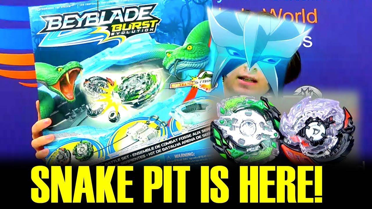 Evil Switchstrike Shadow Snake Pit Battle Set Beyblade Burst