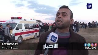شهداء ومصابون بمسيرات العودة في غزة - (21-12-2018)