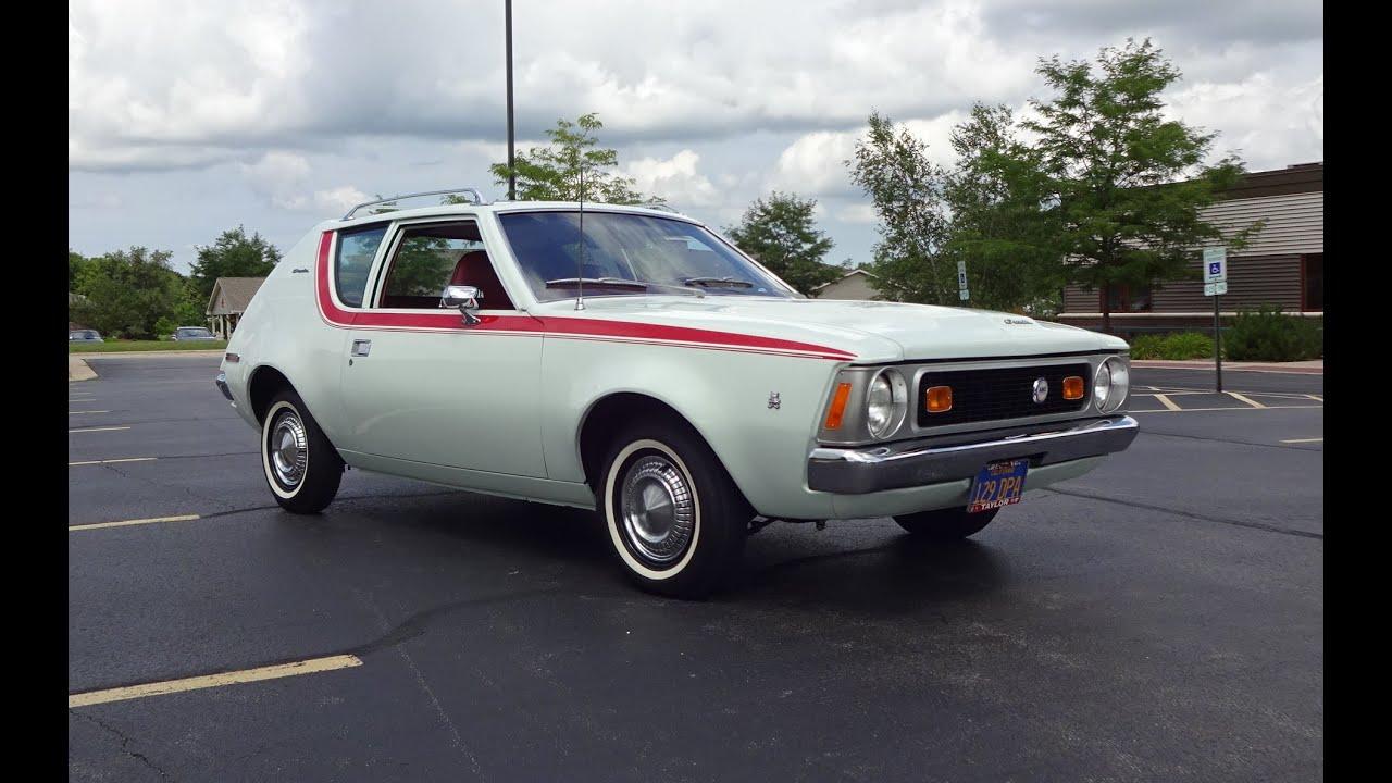 1971 American Motors AMC Gremlin In Snow White Paint