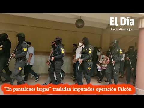 """""""En pantalones largos"""" trasladan imputados Operación Falcón  #PeriódicoElDía"""