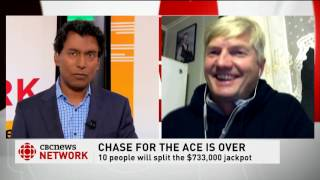 CBC News Network Ian Hanomansing speaks to reporter Terry Roberts about Chase the Ace