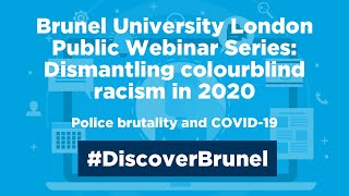 Gambar cover Dismantling colourblind racism in 2020: Police brutality and COVID-19