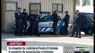 Pereira Cristóvão começa a ser ouvido por juiz de instrução