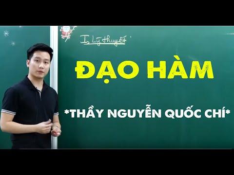 Tính ĐẠO HÀM _ Toán 11_ Thầy Nguyễn Quốc Chí