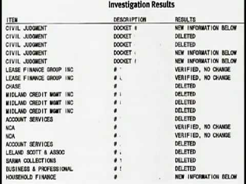 Credit Repair Expert Shows Proof Of Deletions