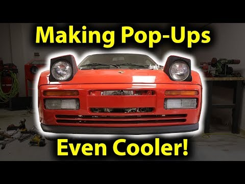 Improving The Porsche 944 Pop Up Headlights!