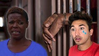 VISITING KIM IN JAIL ! (homeless mukbang woman)