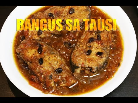Bangus Sa Tausi (Milkfish In Salted Black Bean Sauce) - Today's Delight
