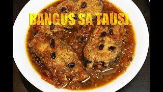 Bangus sa Tausi (Milkfish in Salted Black Bean Sauce) - Today's Delight