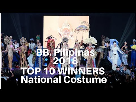 Top 10 Winners of Bb. Pilipinas 2018 National Costume Competition