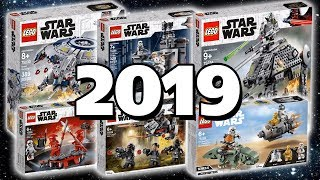 НОВИНКИ LEGO STAR WARS 2019