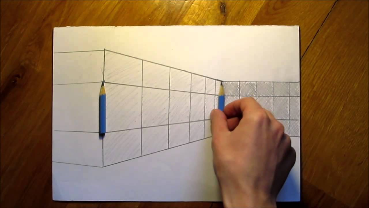 optical illusion pencils