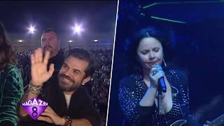 Rock Müziğin Kraleçesi Şebnem Ferah İstanbul Harbiye'yi Salladı