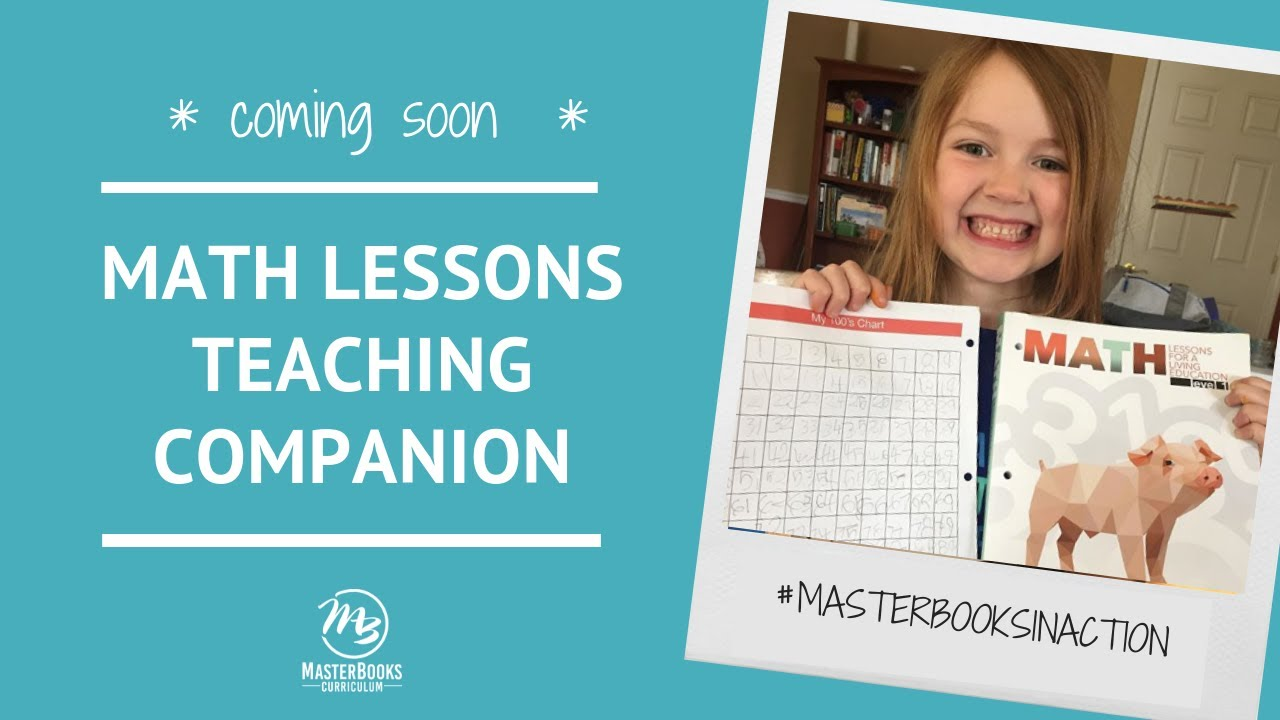 Coming Soon: Math Lessons Teaching Companion // Master Books Homeschool Curriculum image