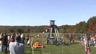 2008 Damariscotta Pumpkin Catapult
