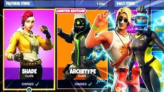 6 *NEW* SKINS LEAKED in Fortnite! - NEW Shade, Archetype, Reef Ranger, Sun Tan Skins (Update v5.1)