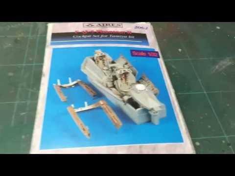 Unboxing of: Aires #2062 F-4 J/S Phantom II cockpit